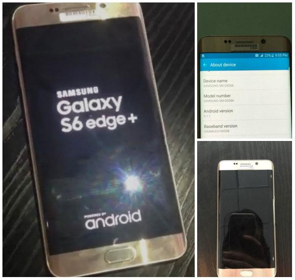 Samsung Galaxy Note 5 ve Galaxy S6 Edge Plus canlı görselleri ortaya çıktı