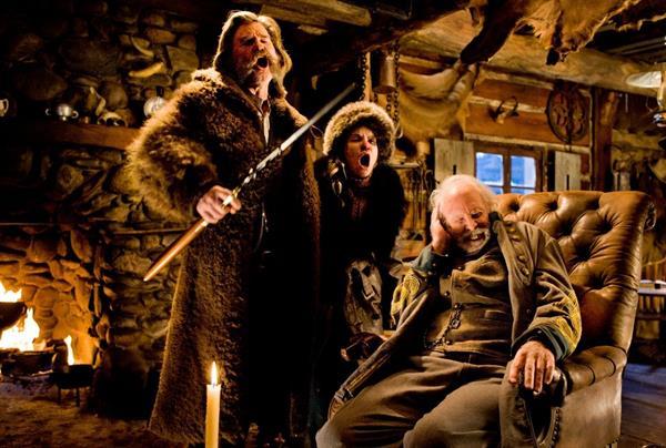Tarantino'nun yeni filmi The Hateful Eight'ten ilk fragman
