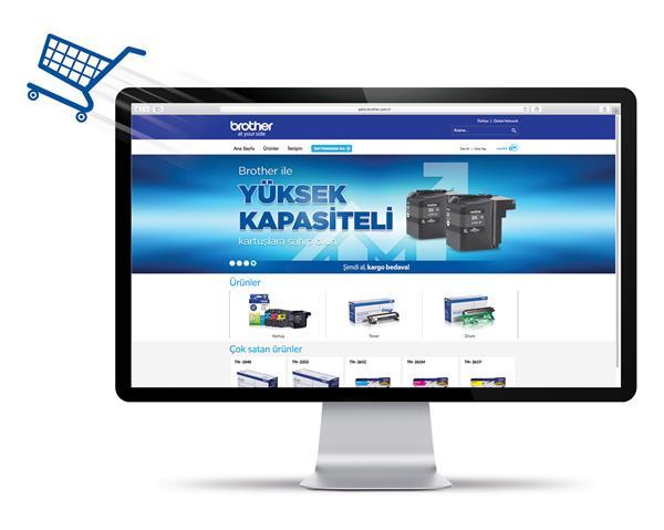 Brother Türkiye online satış sitesini hizmete sundu