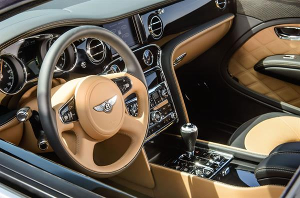 Bentleyin Amiral Gemisi Mulsanne Speed 4g Bağlantı Ve Masaj