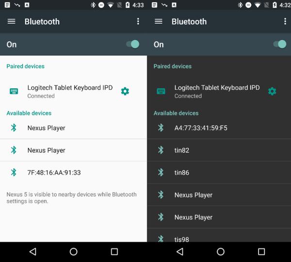 Android Destek Kütüphanesi'ne gece modu desteği geliyor