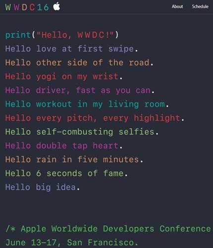 WWDC 2016 etkinliğinin tarihi belli oldu