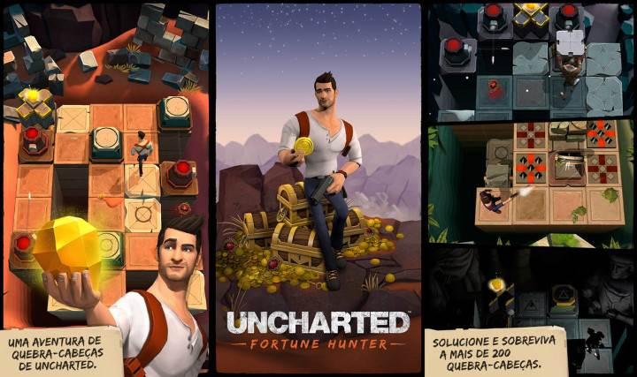 Uncharted ilk olarak mobilde