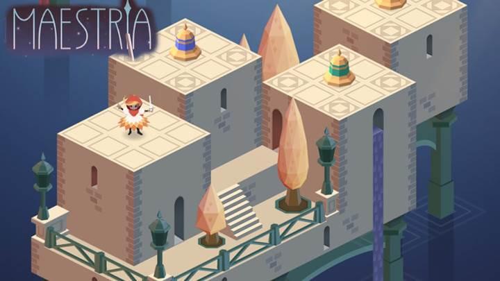 Eğlenceli ve göz alıcı bulmaca oyunu: Maestria