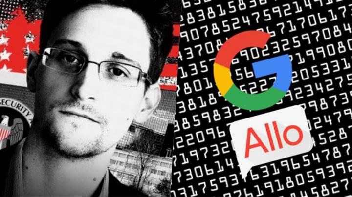 Edward Snowden: Google'ın Allo uygulamasından uzak durun!