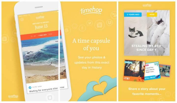 Timehop ile anılarınız bir arada