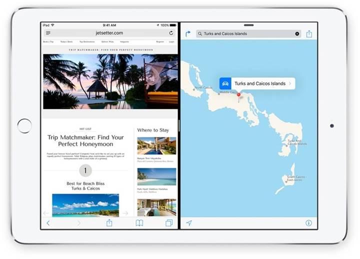 Google ofis uygulamaları, iPad için bölünmüş ekran desteği kazandı