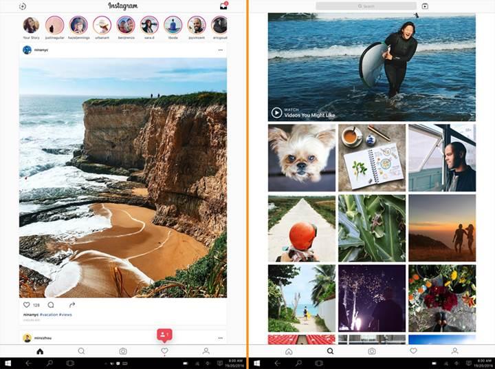 Instagram'ın resmi Windows 10 uygulaması nihayet yayınlandı