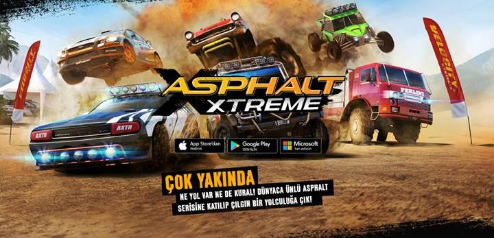 Off-road temalı Asphalt Extreme'i ilk siz oynayın, bonus kazanın