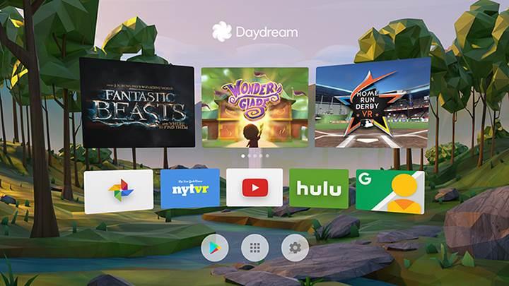 Google Daydream uygulaması indirmeye sunuldu