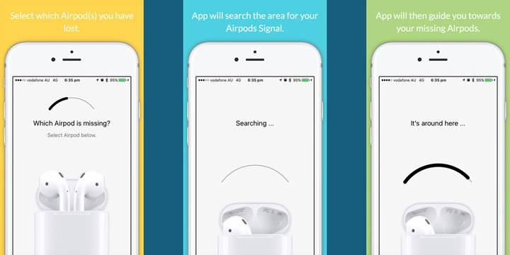 Kayıp AirPod'unuzu bulmanıza yardımcı olacak uygulama çıktı (Güncellendi: Apple uygulamayı kaldırdı!)