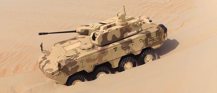 Otokar'dan BAE'ye rekor zırhlı araç satışı