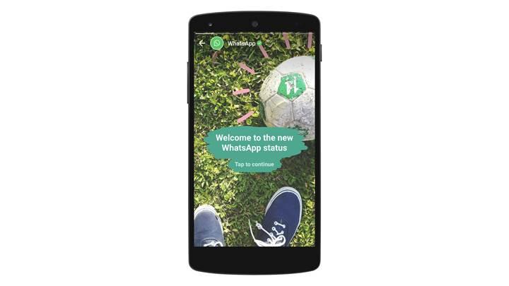 WhatsApp, Status isimli yeni bir özelliği kullanıma sundu