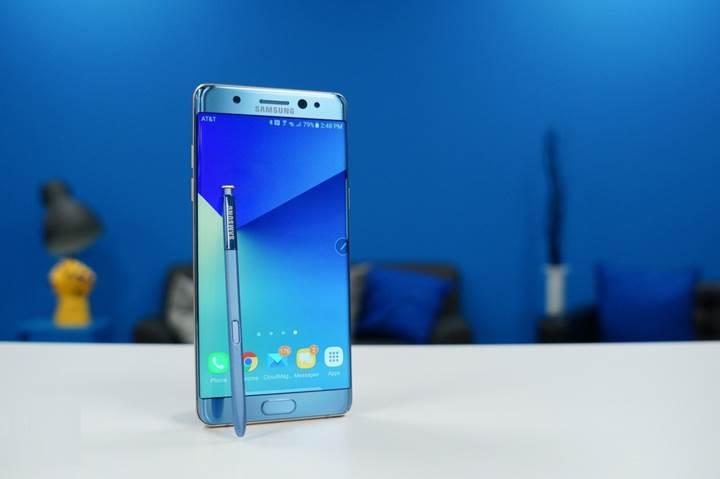 Samsung Galaxy Note 7 yeniden satışa sunuluyor