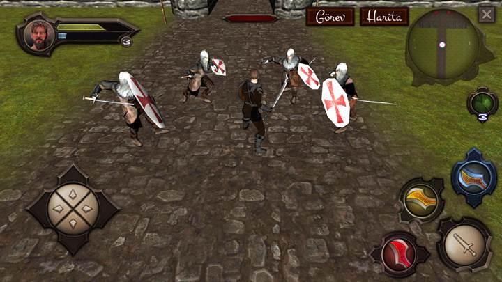 Diriliş Ertuğrul temalı kılıç sallama oyunu denemesi ile tanışın