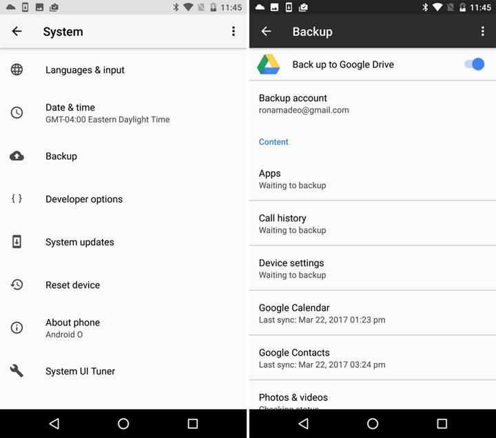 Android 8.0 ile gelen 20 yenilik - Bölüm 4