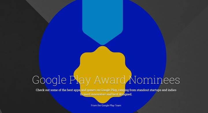 Google Play Awards 2017 adayları belli oldu, Türkiye'den de bir uygulama var