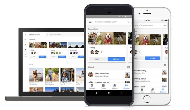 Google Fotoğraflar yeni özelliklerle güncellendi
