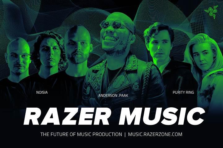 Razer Music, Grammy adayı Anderson .Paak ile büyüyor