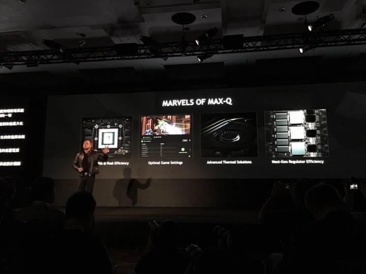 Nvidia'dan dizüstü modellerine yönelik Max-Q tasarımı