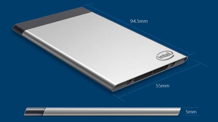 Intel Compute Card resmiyet kazandı