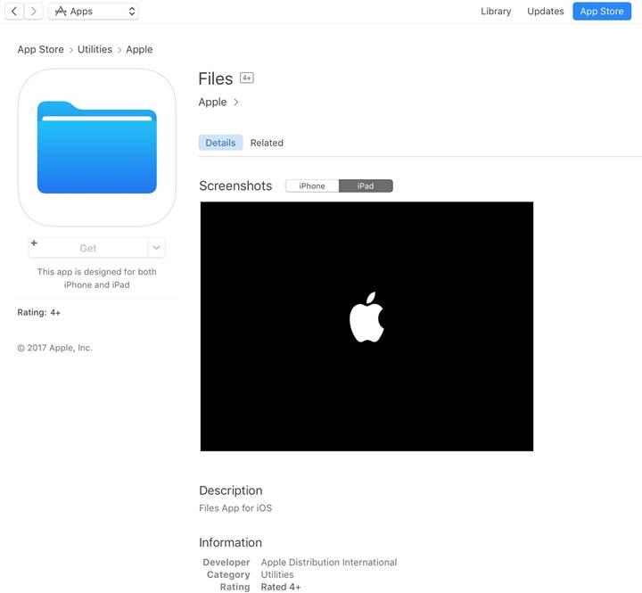 iOS platformuna dosya yöneticisi geliyor