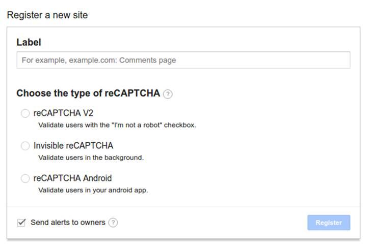 Google, reCAPTCHA arayüzünü Android'e getiriyor