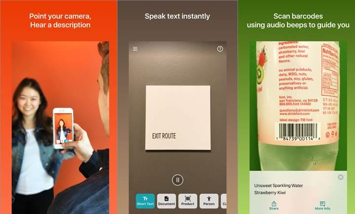 Microsoft'tan görme engelliler için müthiş uygulama