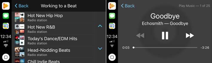 Google Play Music uygulamasına CarPlay desteği geldi