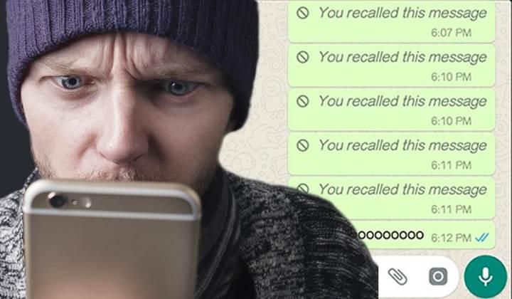 WhatsApp'a nihayet gönderilen mesajı geri alma özelliği geliyor