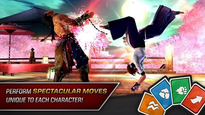 Efsane dövüş oyunu Tekken mobil platforma geldi