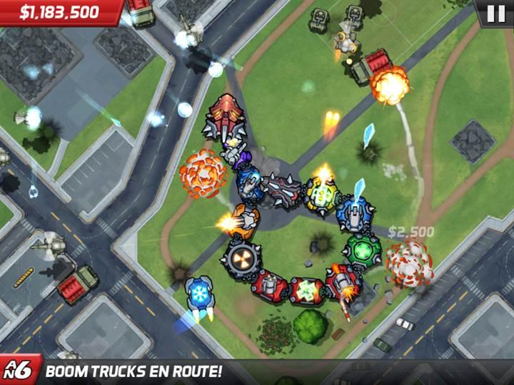 Yıkım oyunu Colossatron: Massive World Threat bu hafta ücretsiz