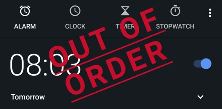 Android Oreo'da alarm sorunu başladı