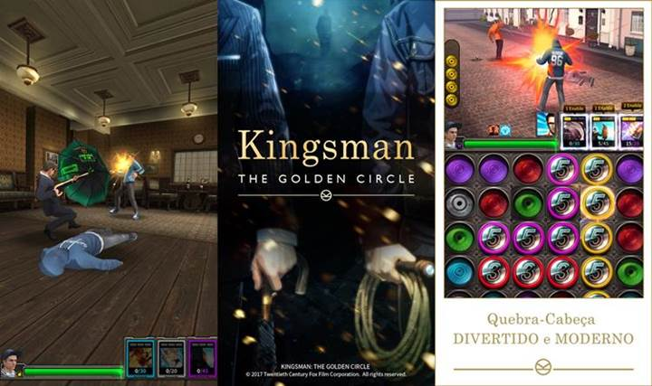 Kingsman: The Golden Circle Game ile heyecanı devam ettirin