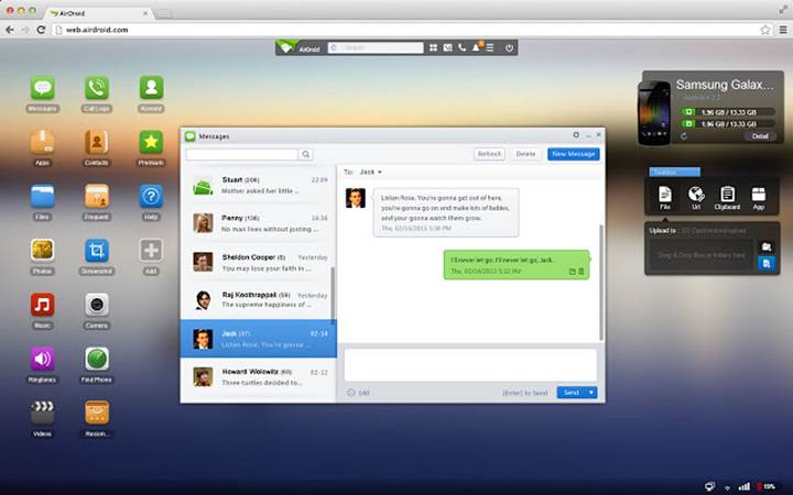 Kablosuz dosya transfer uygulaması AirDroid, App Store'da