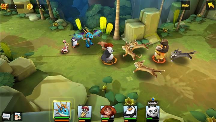 DreamWorks kahramanları bu oyunda