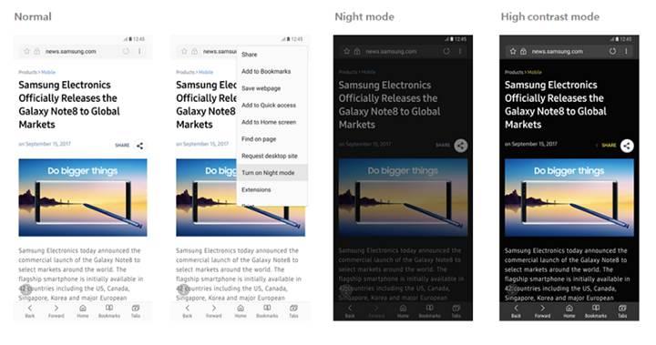 Samsung'un internet tarayıcısı artık tüm Android cihazlar için indirilebilecek