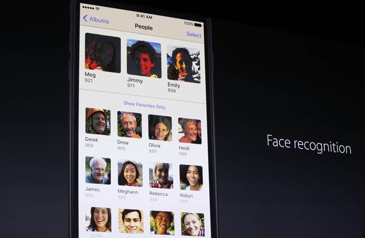 iOS Fotoğraflar uygulaması sütyen barındıran fotoğrafları otomatik grupluyor
