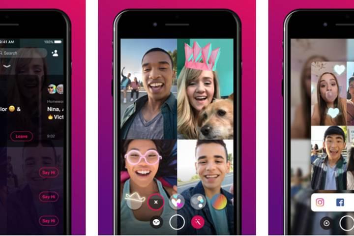 Facebook Bonfire video sohbet uygulaması kullanıma sunuldu