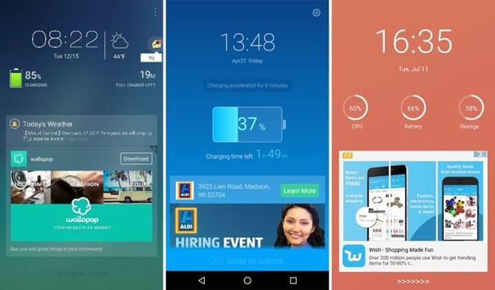 Google, Android'deki kilit ekranı reklamlarını yasakladı