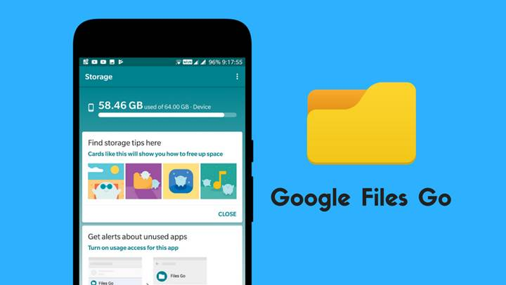 Google Files Go dosya yöneticisi indirmeye sunuldu