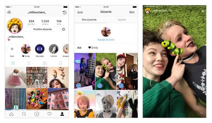 Instagram hikâyeleriniz artık silinmeyecek