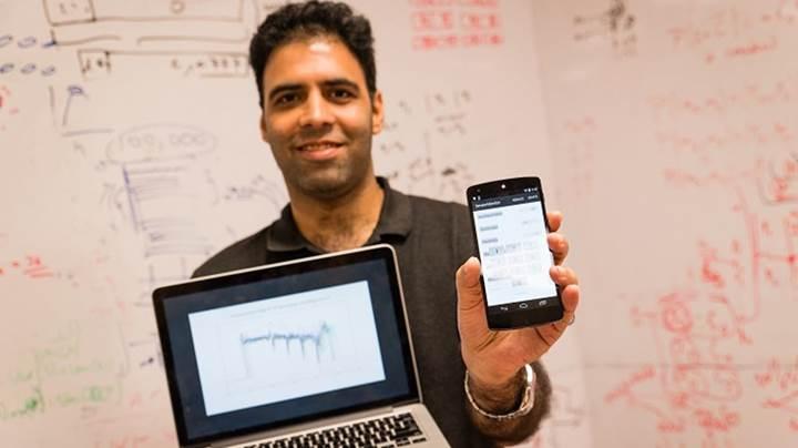 Akıllı telefonunuzun sensörleri şifrelerinizi ele veriyor