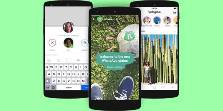 Yakında Instagram hikayelerinizi WhatsApp'ta paylaşabileceksiniz