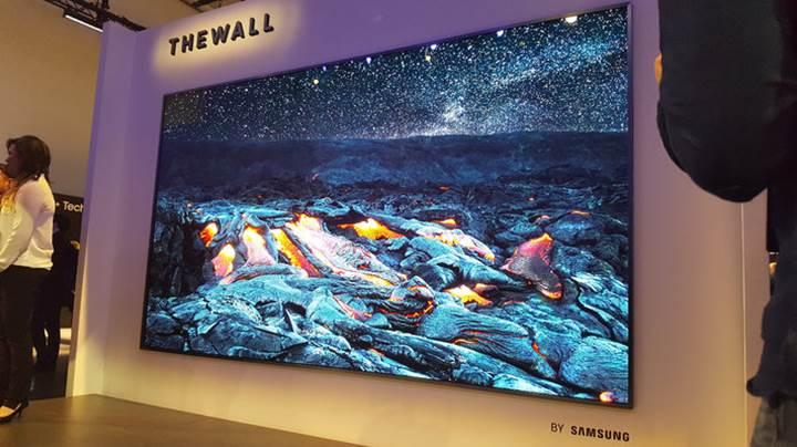 The Wall: Samsung'dan 146 inçlik microLED televizyon