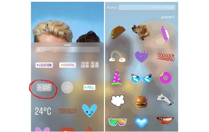 Instagram hikâyelerine nasıl GIF eklenir?