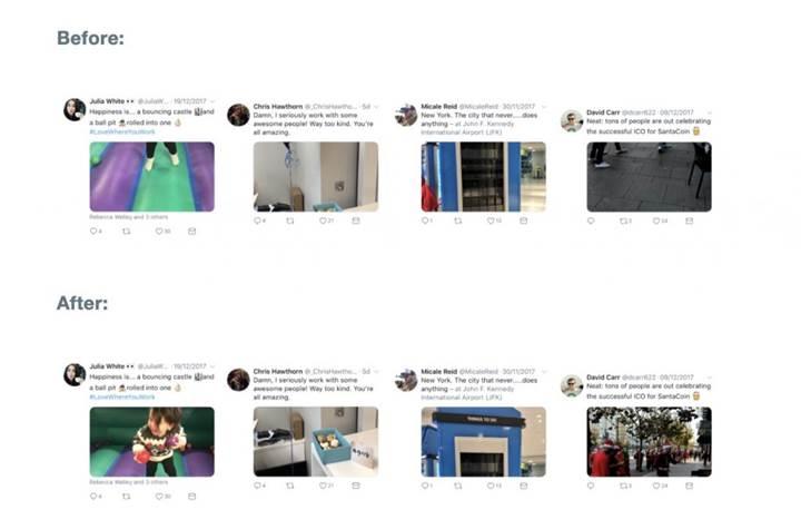 Twitter fotoğrafları kırpmak için gelişmiş yapay zekâ teknolojisi kullanıyor