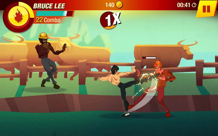 Bruce Lee ezilenlerin yardımına mobilde koşuyor