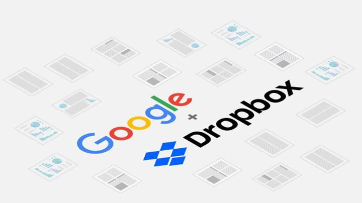 Dropbox içerisinde G Suite ofis uygulamalarını kullanmak mümkün oluyor