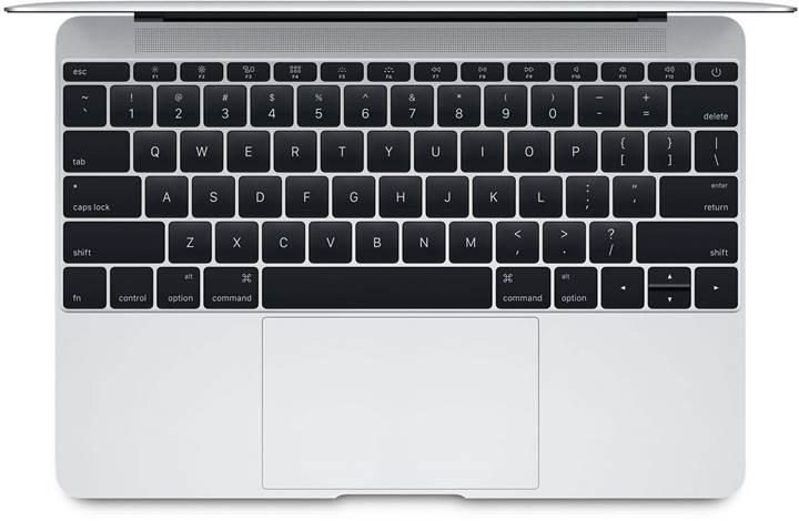 Apple Sıvı ve Kırıntı geçirmez Klavye